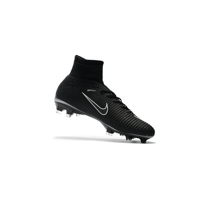 Nike News Mercurial Superfly 5 FG ACC Soccer Cleat Black Grey Maximize.  Previous. Next