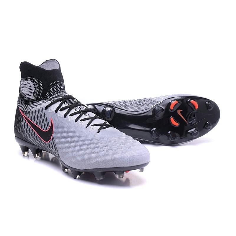 prix le plus bas eed5a 237f0 Nike Magista Obra 2 FG New Soccer Boots Gray Black