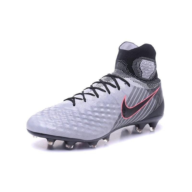 prix le plus bas fe5ee 6ade7 Nike Magista Obra 2 FG New Soccer Boots Gray Black