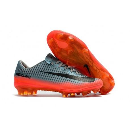 b3695bfe1 New Ronaldo Nike Mercurial Vapor XI FG Soccer Cleats Grey Metallic  Hematite Wolf Grey