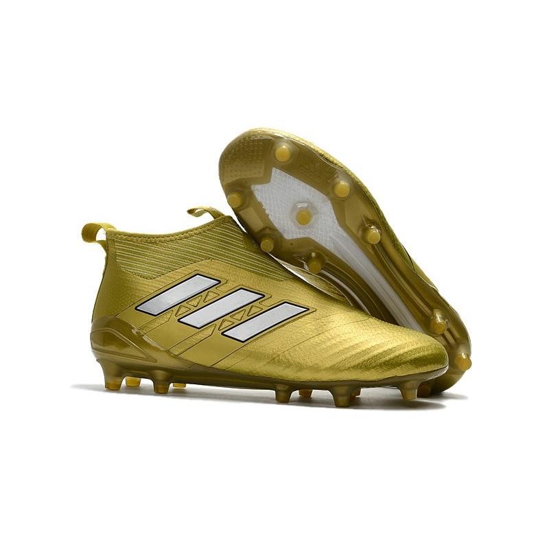 ce69d509697 adidas ACE 17+ Purecontrol FG Mens 2017 Soccer Cleats Golden White  Maximize. Previous. Next