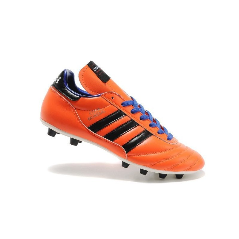 sports shoes a28b9 2b147 adidas Copa Mundial FG K-Leather Football Shoes Solar Zest
