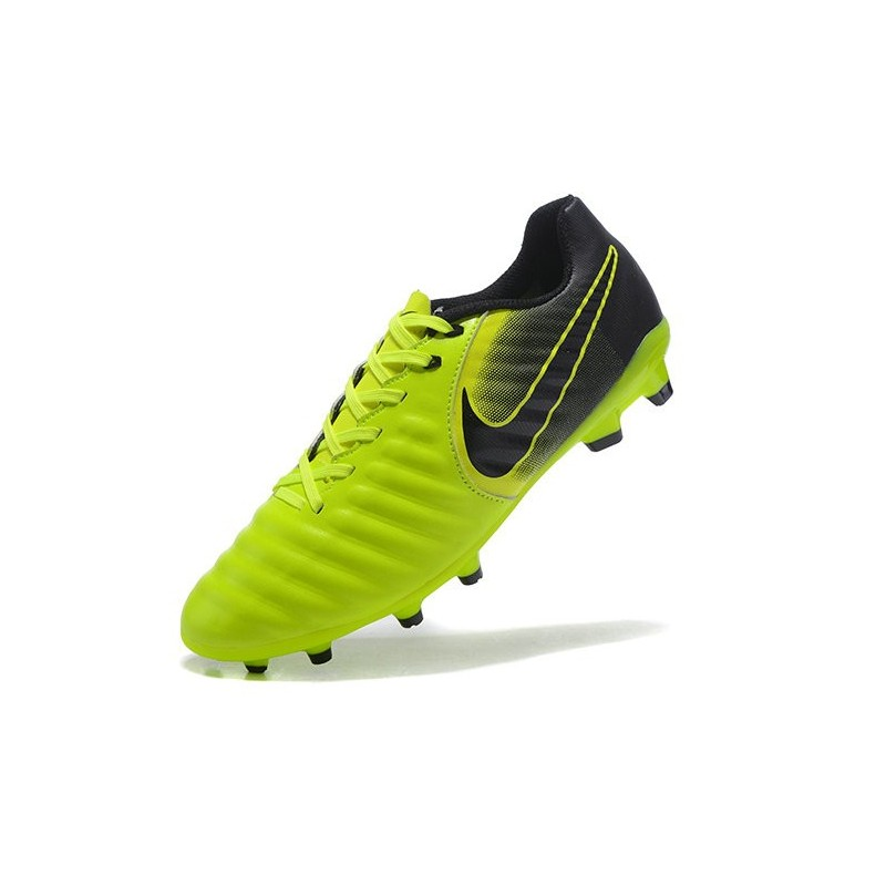f0a02bfd1 New Nike Tiempo Legend 7 FG K-leather Football Boots Green Black Maximize.  Previous. Next
