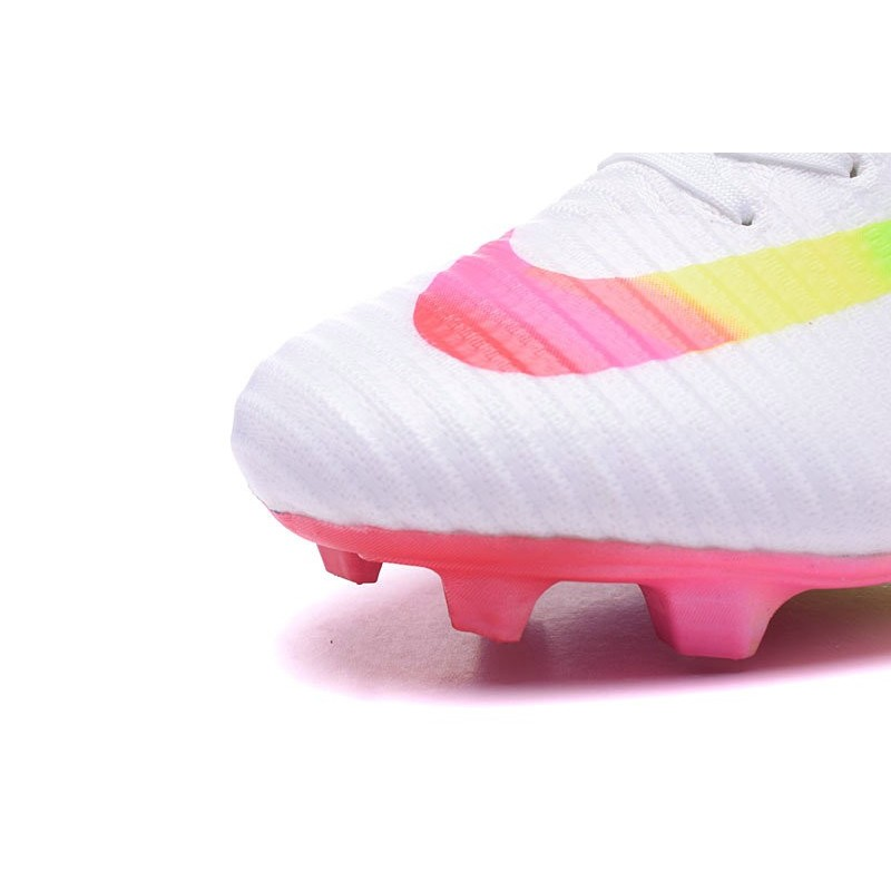 5b7a8c0d4c55 Nike Mercurial Superfly V FG ACC Top Boots White Rainbow Maximize.  Previous. Next