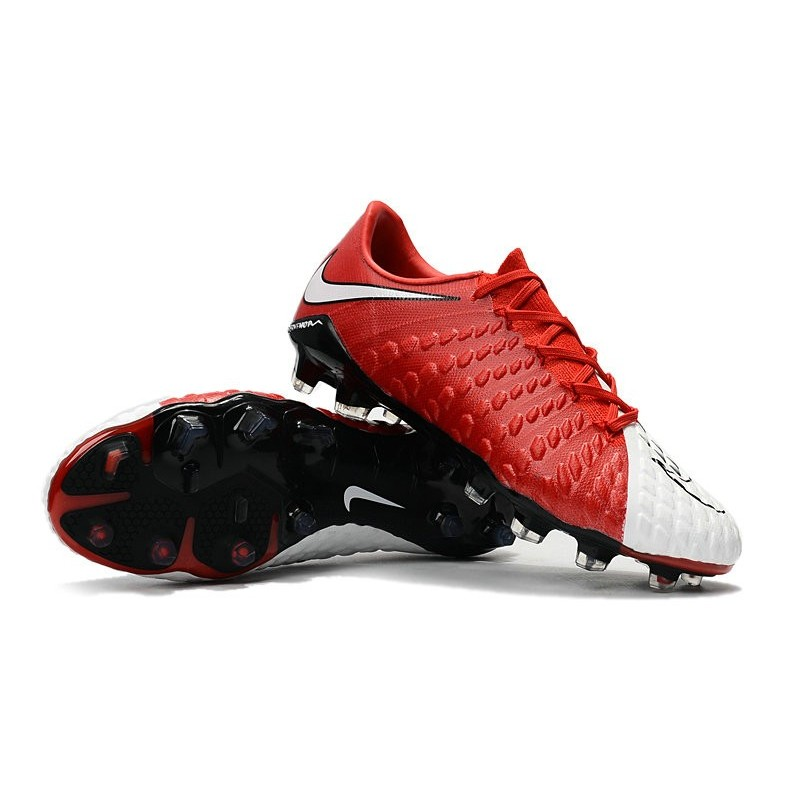nike hypervenom phantom iii lowcut new boots red white