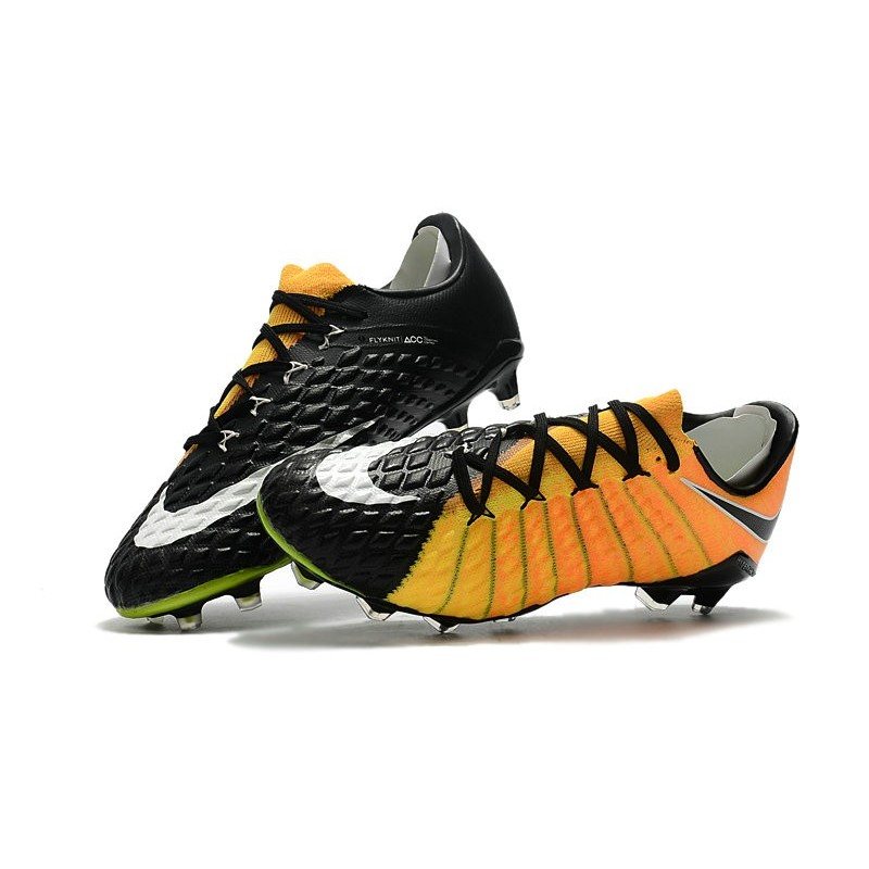 a5e187c5e Nike Hypervenom Phantom III Low-cut New Boots Yellow Black Maximize.  Previous. Next