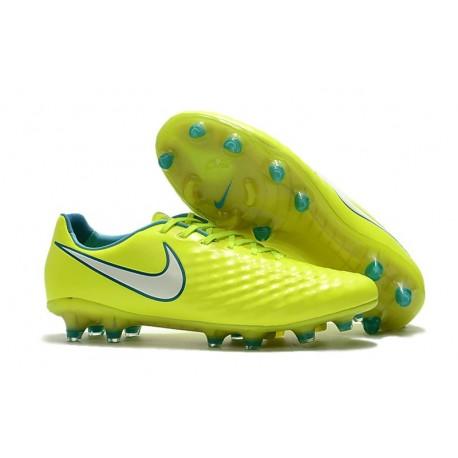2b1e54625ad6 News Men Nike Magista Opus II FG Soccer Shoes Yellow White