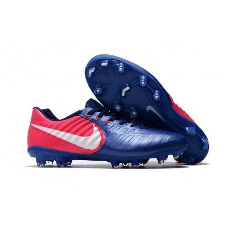 Nike Tiempo Legend VII FG ACC Mens Soccer Cleats - Blue Rose