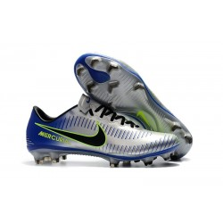Nike Mercurial Vapor 11 FG Firm Ground New Cleat - Silver Black