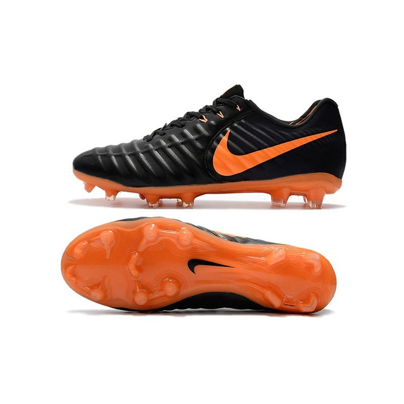 ea8cca5dad54 ... purchase nike tiempo legend vii fg acc mens soccer cleats black orange  maximize. previous.