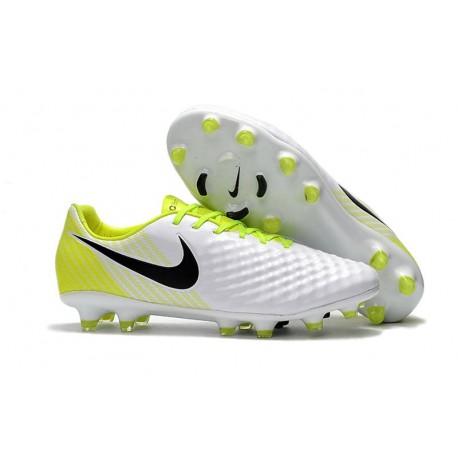 Nike Magista Opus II FG ACC Football Shoes White Black