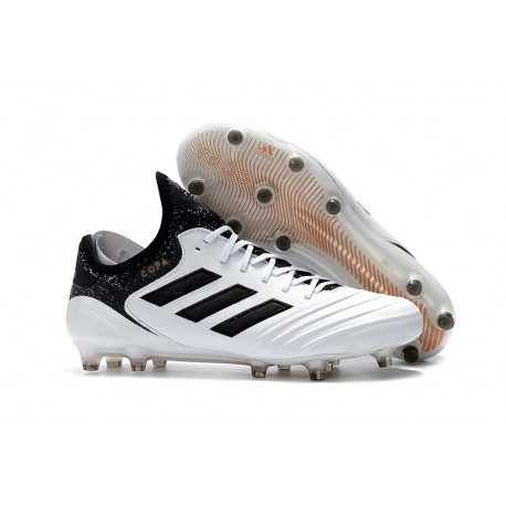 adidas Copa 18.1 FG New Football Boots White Black