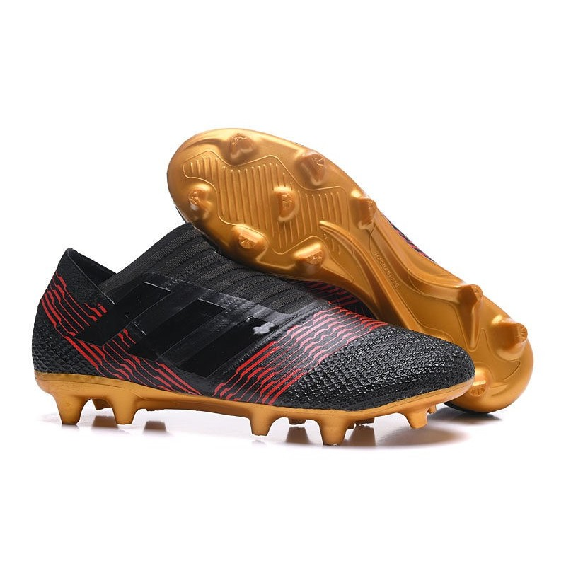 adidas Nemeziz Messi 17+ 360 Agility FG Noir Or Rouge