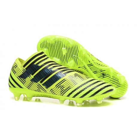 adidas Nemeziz Messi 17+ 360 Agility FG Mens Boots - Yellow Black