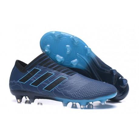 adidas Nemeziz Messi 17+ 360 Agility FG Mens Boots - Deep Blue Black