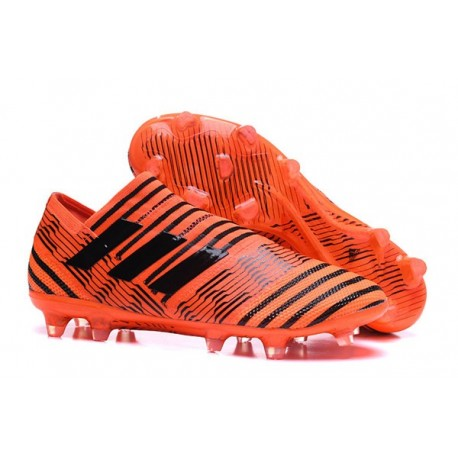 adidas Nemeziz Messi 17+ 360 Agility FG Mens Boots - Orange Black
