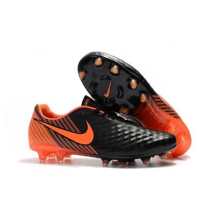 Nike Magista Opus II FG ACC Football Shoes Black Orange