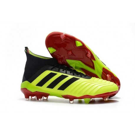 low priced best wholesaler cozy fresh adidas Predator 18.1 Mens FG Football Boots Fluo Black