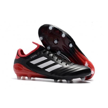 adidas Copa 18.1 FG New Football Boots Black White Red