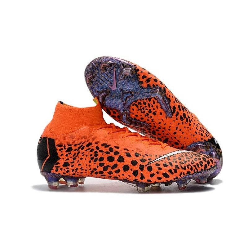 34c61d511334 Nike Mercurial Superfly VI 360 Elite FG Ronaldo Soccer Cleats - Safari  Orange Maximize. Previous. Next