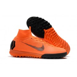 Nike Mercurial Superfly X 6 Elite TF Boots Orange Black