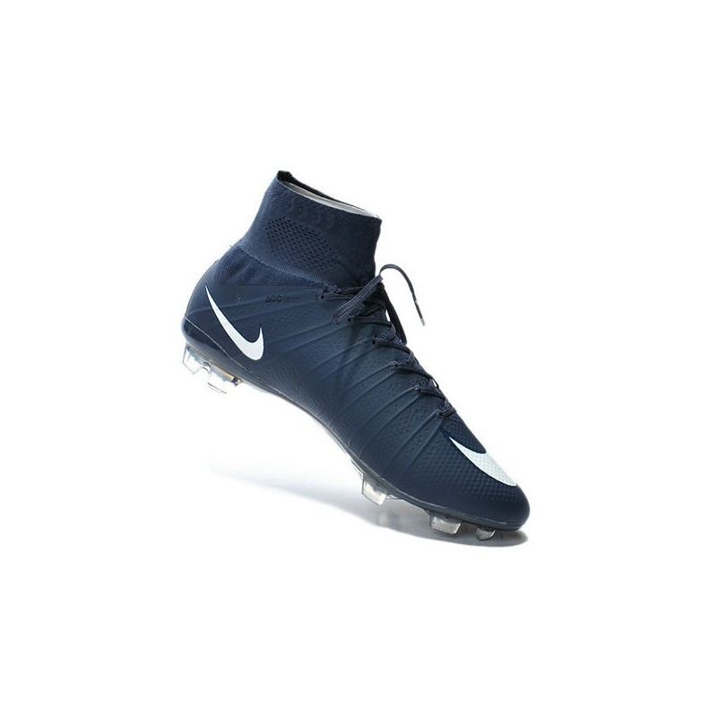 Top Nike Mercurial Superfly FG ACC Soccer Cleat Cyan Blue White