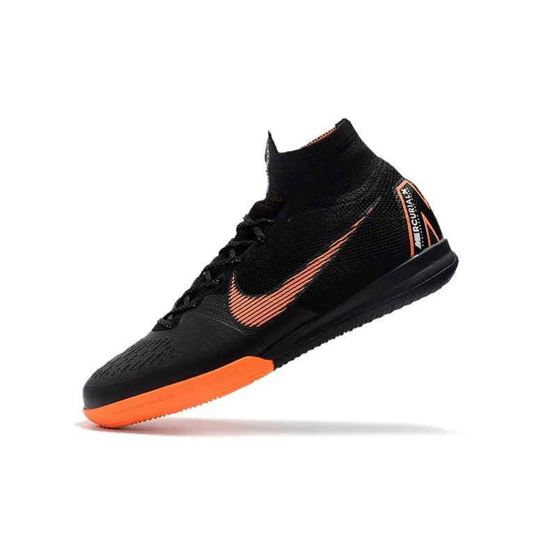 4bbd71ffe ... coupon for nike mercurial superflyx vi elite ic indoor shoes black  orange maximize. previous.