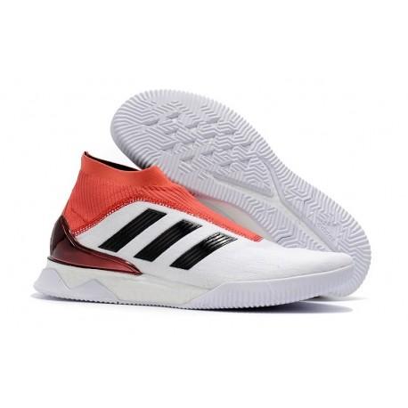 adidas Predator Tango 18+ Ultraboost TR Boots White Red Black