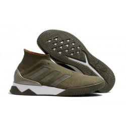 adidas Predator Tango 18+ Ultraboost TR Boots Trace Olive Orange