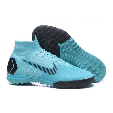 c73901af143 Nike Mercurial SuperflyX 6 360 Elite TF Boots - Blue Black