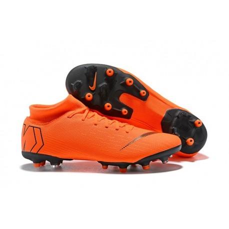 Nike Mercurial Superfly VI Elite AG-Pro Football Boots Orange Black