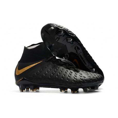 Nike Hypervenom Phantom 3 FG ACC Cleats - Black Golden