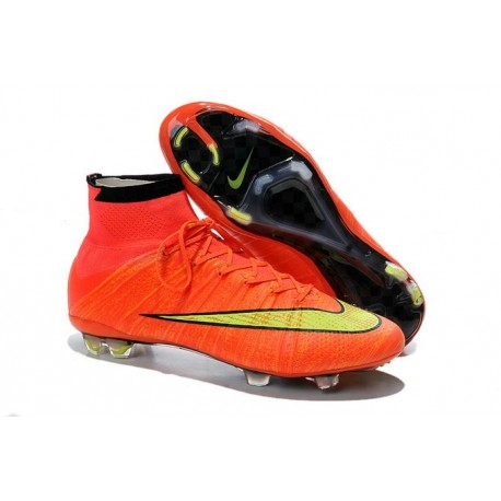 separation shoes dfed5 791e1 Top Nike Mercurial Superfly FG ACC Soccer Cleat Hyper Punch Gold Black