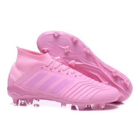 adidas Predator 18.1 Mens FG Football Boots Pink