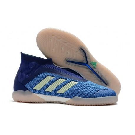 adidas PP Predator Tango 18+ IN Football Boots Blue White