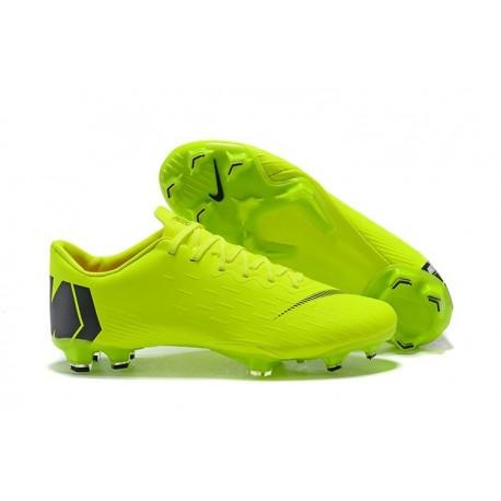 f0f37a1024 Nike Mercurial Vapor XII Men's FG Football Boots - Green Black