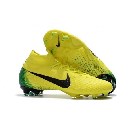 678e45334 Nike Mercurial Superfly VI 360 Elite FG Soccer Cleats - Yellow Green