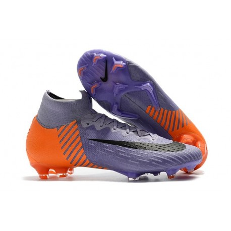Nike Mercurial Superfly 6 Elite FG World Cup 2018 Boots - Purple Orange Black