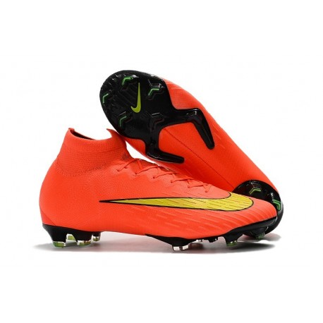 Nike Mercurial Superfly 6 Elite FG World Cup 2018 Boots - Orange Yellow