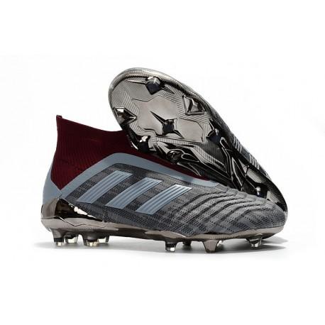 Paul Pogba adidas PP Predator 18+ FG Iron Metallic
