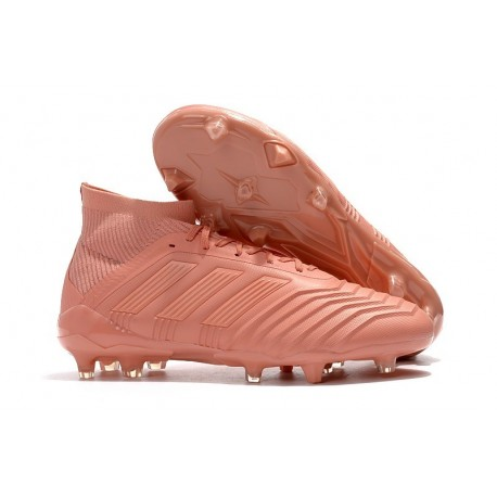adidas Predator 18.1 Mens FG Football Boots in Pink