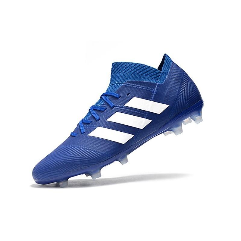 Adidas World Cup 2018 Messi Nemeziz 18 1 Fg Blue White