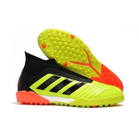adidas Predator Tango 18+ Ultraboost TR Boots Yellow Black Orange