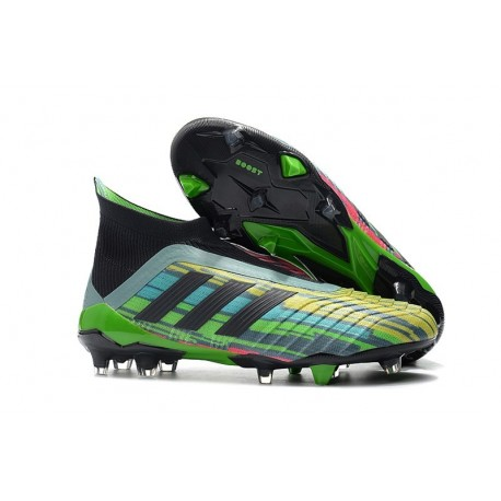 adidas New Predator 18+ FG Soccer Cleats Colorful