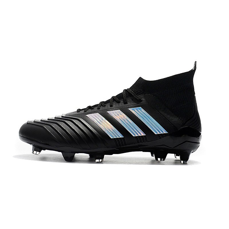 brand new 71061 2cbda adidas Predator 18.1 Mens FG Football Boots Black Silver