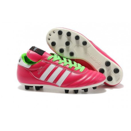 adidas Copa Mundial FG K-Leather Football Shoes Vivid Berry