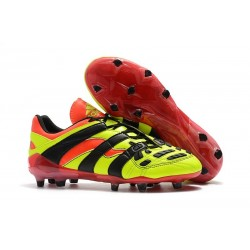 adidas Predator Accelerator FG Soccer Cleats - Electricity Black Red