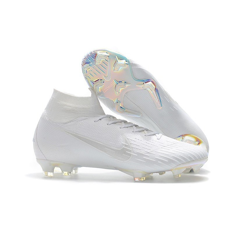 091c82d80c1 Nike Mens Mercurial Superfly 6 Elite FG Football Boots - All White  Maximize. Previous. Next