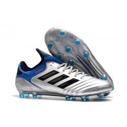 adidas Copa 18.1 FG New Football Boots Silver Black Blue