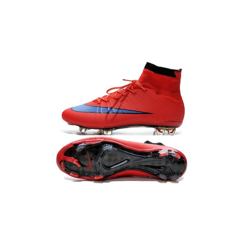 cristiano ronaldo nike mercurial superfly 4 fg acc boots red purple. Black Bedroom Furniture Sets. Home Design Ideas